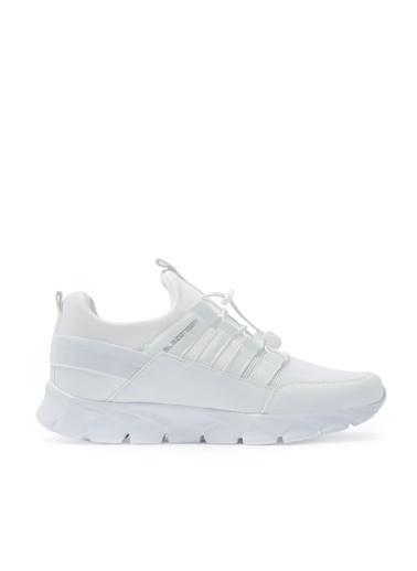 Slazenger Slazenger Kruser Sneaker Erkek Ayakkabı  Beyaz